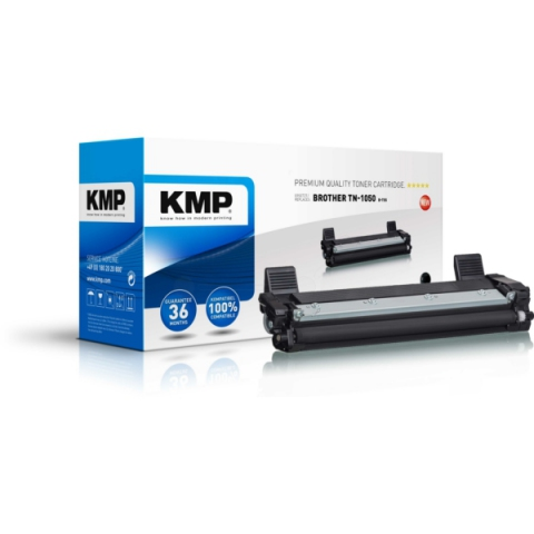 KMP Toner, recycelt, ersetzt TN1050 f�r Brother