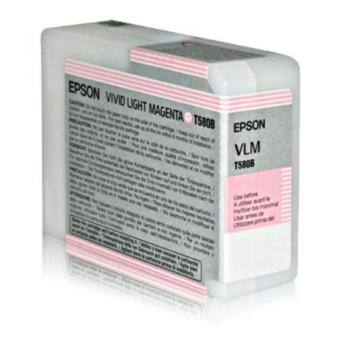 Epson T580B00 original Druckerpatrone f�r