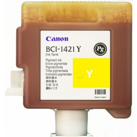 Canon Tintenpatrone BCI1421Y für Plotter, Inhalt