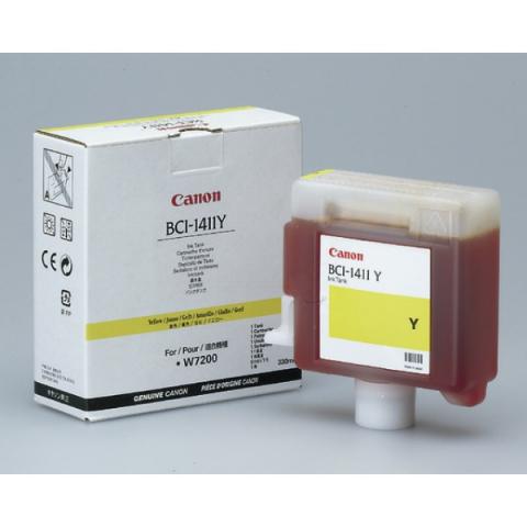 Canon Tintenpatrone BCI1411Y für Plotter mit