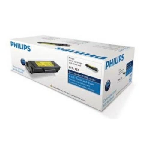 Philips PFA-751 Toner, original und Bildtrommel