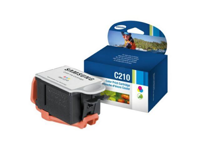 Druckerpatrone mit Druckkopf original Samsung für ca. 250 Seiten, color