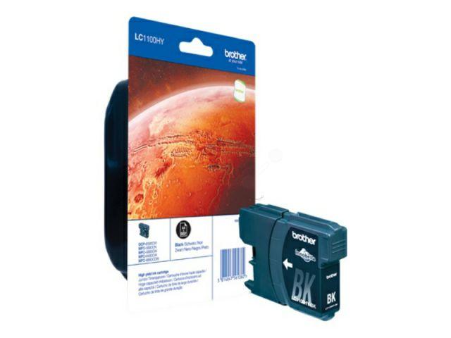 LC1100HYBK High Capacity Druckerpatrone mit Innobella Druckertinte, 19ml für ca. 900 Seiten,
