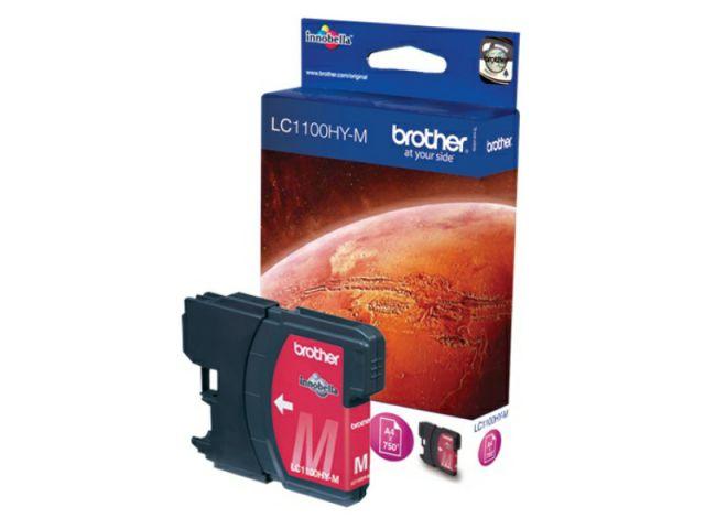 LC1100HYM High Capacity Patrone mit Innobella Druckertinte, 10,1ml für ca.750 Seiten, magenta