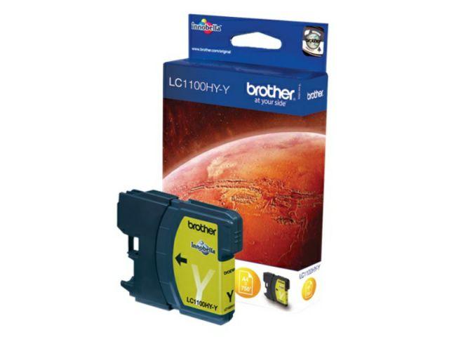 LC1100HYY High Capacity Druckerpatrone mit Innobella Druckertinte, 10,1ml für ca.750 Seiten,
