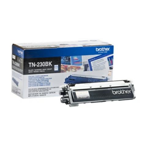 Brother TN-230 BK Toner für ca. 2.200 Seiten für