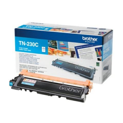 Brother TN-230 C Toner für ca. 1.400 Seiten für