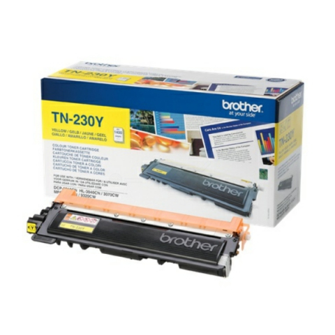 Brother TN-230 Y Toner f�r ca. 1.400 Seiten f�r