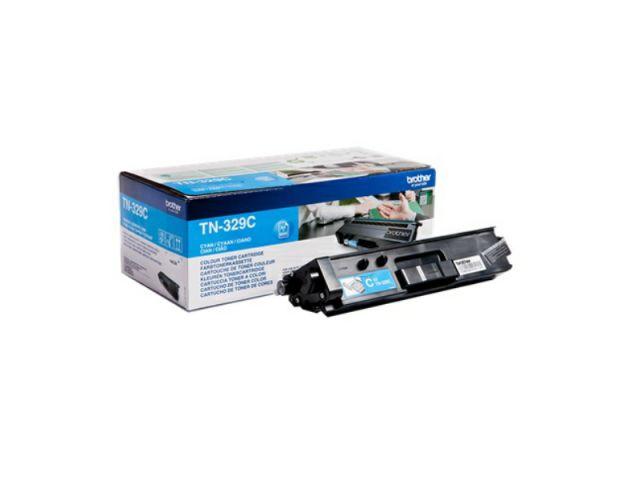 TN-329C Toner für 6.000 Seiten für Brother DCP-L 8450 / MFC-L 8850, cyan