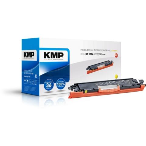 KMP Toner, ersetzt HP 130A (CF352A) f�r HP Color