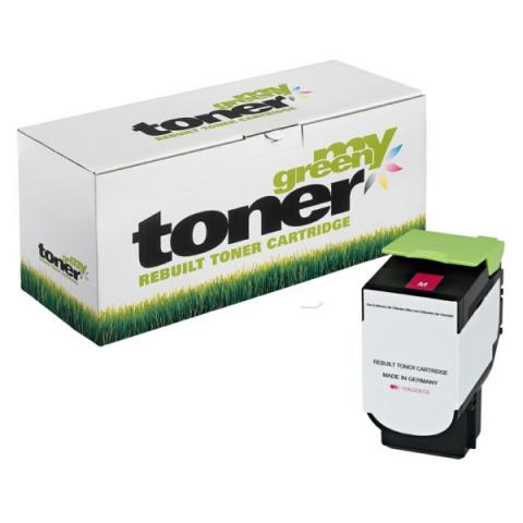 My Green Toner Toner ersetzt 80C2SM0, passend