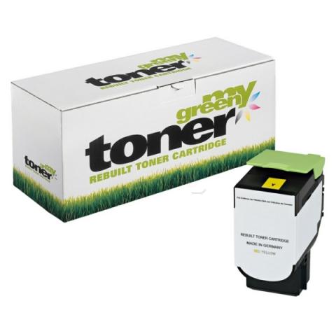 My Green Toner Toner ersetzt 80C2SY0, passend