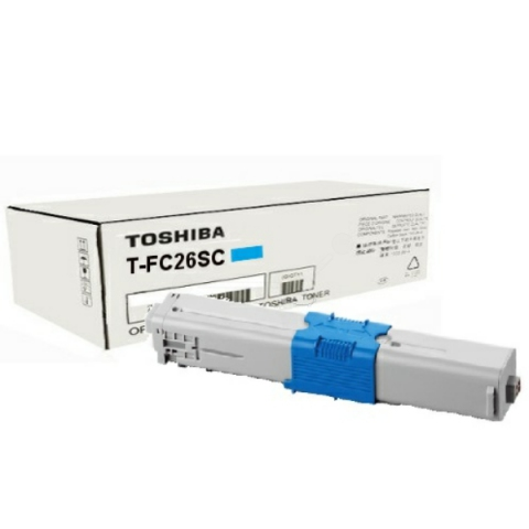 Toshiba T-FC26SC Toner, original , Reichweite