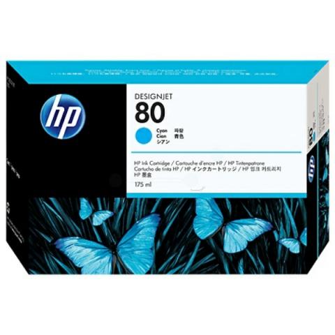 HP C4872A Tintenpatrone N0 80 für HP Designjet