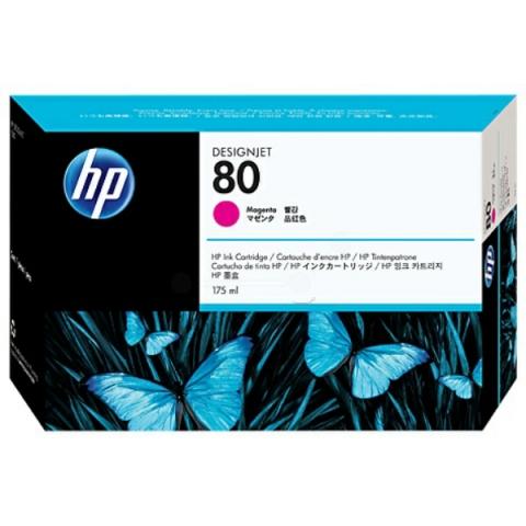 HP C4874A Tintenpatrone N0 80, mit 175 ml für HP