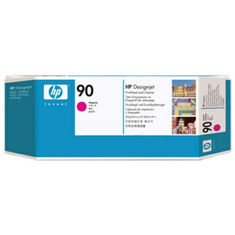 HP C5056A Druckkopf (No.90) + Druckkopfreiniger