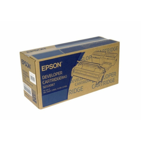 Epson C13S050087 Toner -Kit original , 6.000