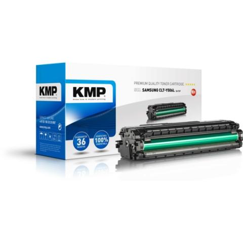 KMP Toner, recycelt, ersetzt CLT-Y506L für
