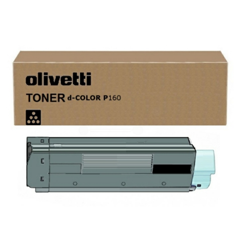 Olivetti Toner, original D-Color P 12 schwarz