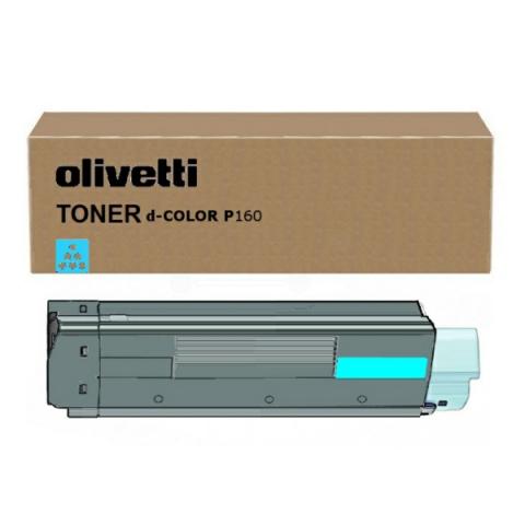 Olivetti Toner, original D-Color P 12 cyan