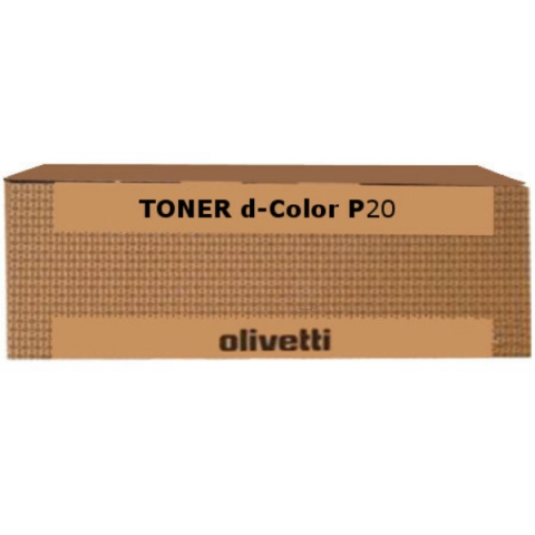 Olivetti Toner, original D-Color P 20 , P 24