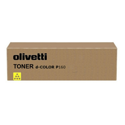 Olivetti Toner, original D-Color P 12 gelb