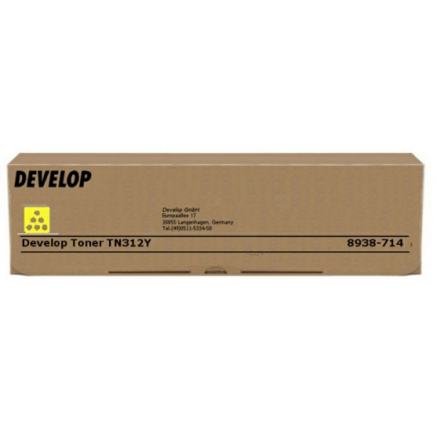 Develop 8938714 Toner original TN312Y, für ca.