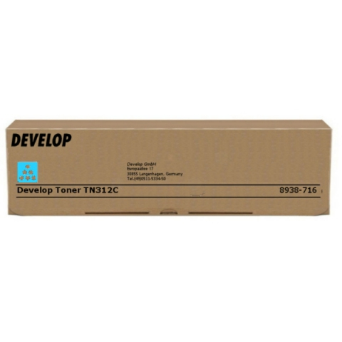 Develop 8938716 Toner original TN312C, für ca.