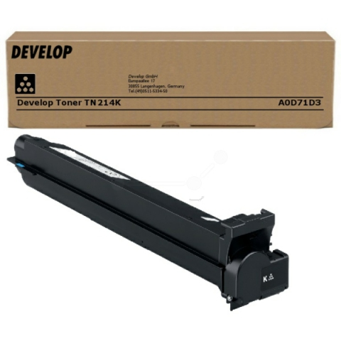 Develop A0D71D3 Toner original f�r ca. 24.000