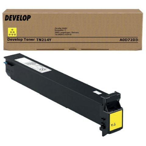 Develop A0D72D3 Toner original TN214C, für ca.