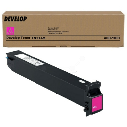Develop A0D73D3 Toner original TN214 M, für