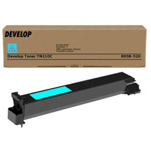 Develop Toner von TN 210 C, f�r ca. 12.000