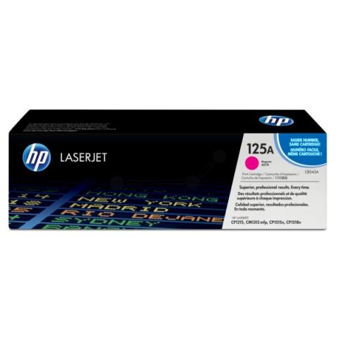 HP CB543A Toner für Color Laserjet CM1312MFP ,