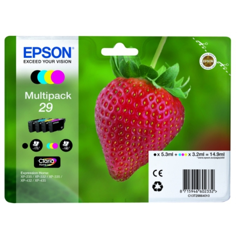 Epson C13T29864010 Multipack Tintenpatronen , 1