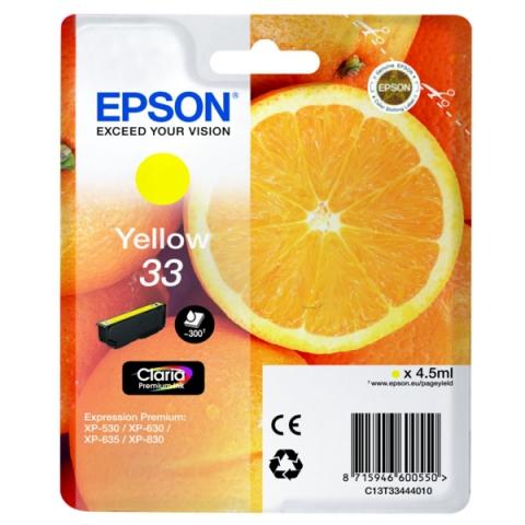 Epson C13T33444010 original Druckerpatrone für