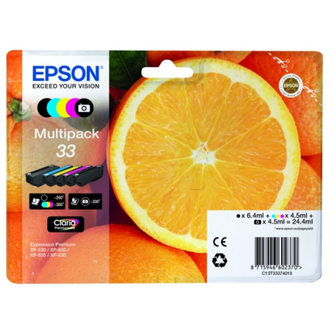 Epson C13T33374010 original Druckerpatronen im