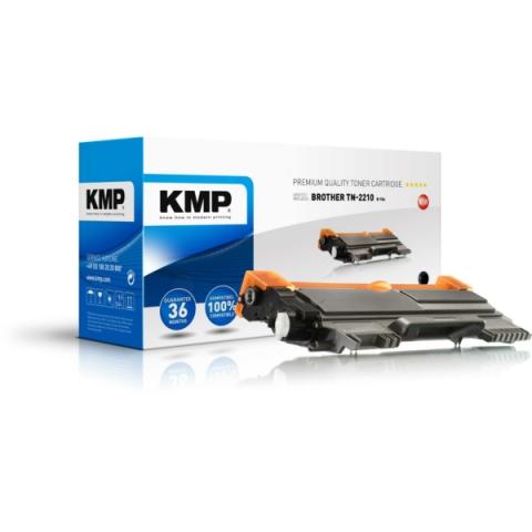 KMP Toner, rebuild, ersetzt TN2210 für Brother