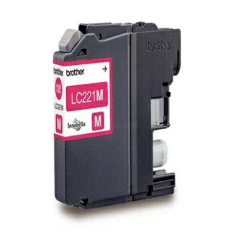 Brother LC221M original Druckerpatrone mit einer