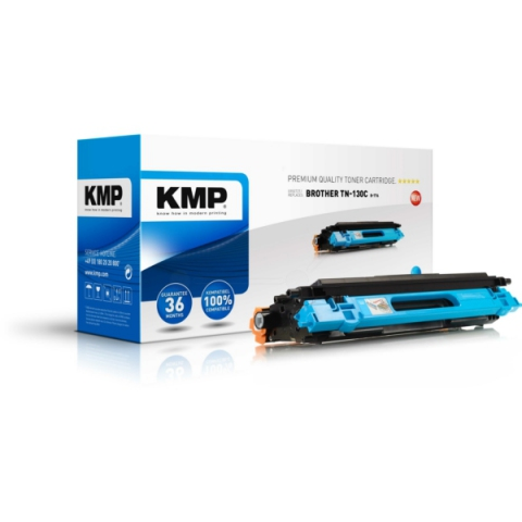 KMP Toner, recycelt, ersetzt TN130C f�r ca.