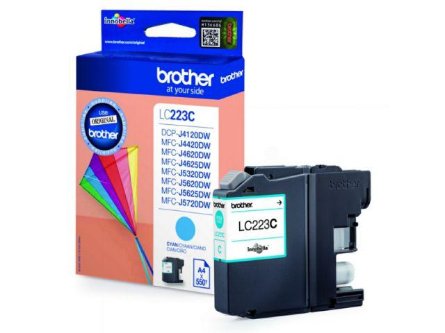 LC223C original Druckerpatrone mit einer Kapazität von für ca. 550 Seiten nach ISO / IEC 24711,