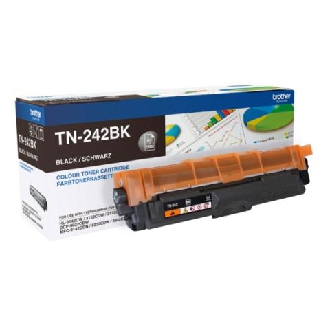 Brother TN-242BK Toner , für ca. 2.500 Seiten,