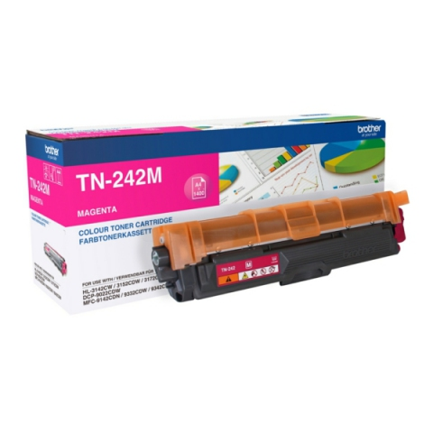Brother TN-242M Toner , für ca. 1.400 Seiten,