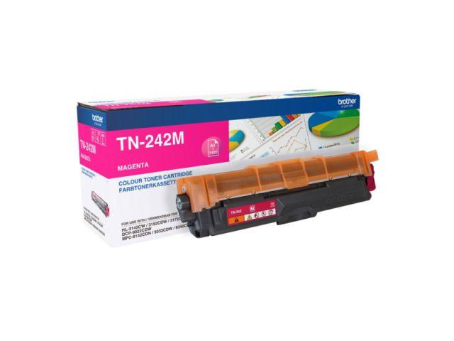 TN-242M Toner Brother, f�r ca. 1.400 Seiten, magenta
