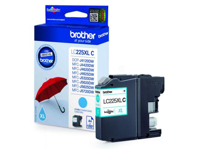 LC225XLC original Druckerpatrone mit einer Kapazität von für ca. 1.200 Seiten nach ISO / IEC