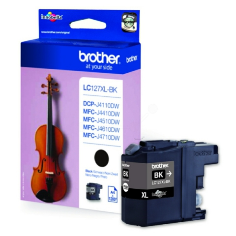 Brother LC127XLBK original Druckerpatrone,