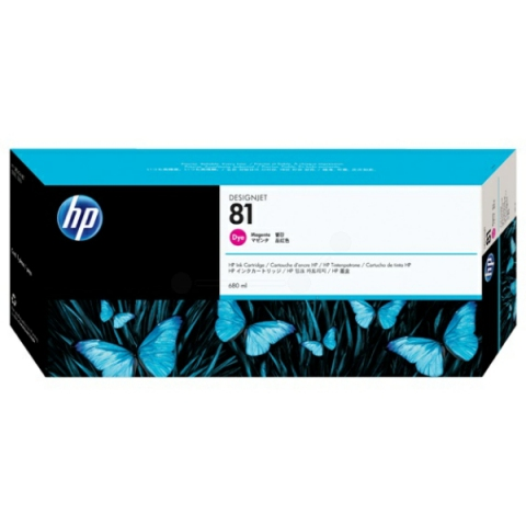 HP C4932A HP 81 , HP Tintenpatrone f�r DESIGNJET