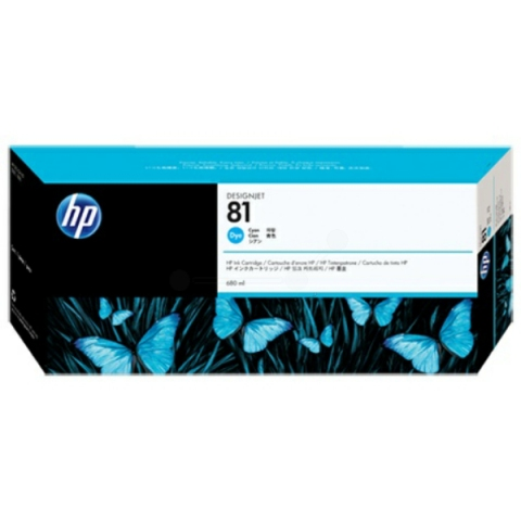 HP C4931A HP 81 , HP Tintenpatrone für DESIGNJET