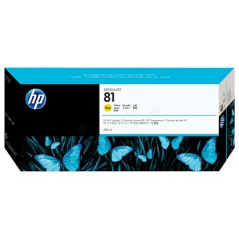 HP C4933A HP 81 , HP Tintenpatrone für DESIGNJET