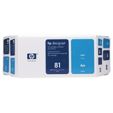 HP C4991A Druckerpatrone HP 81 für DESIGNJET