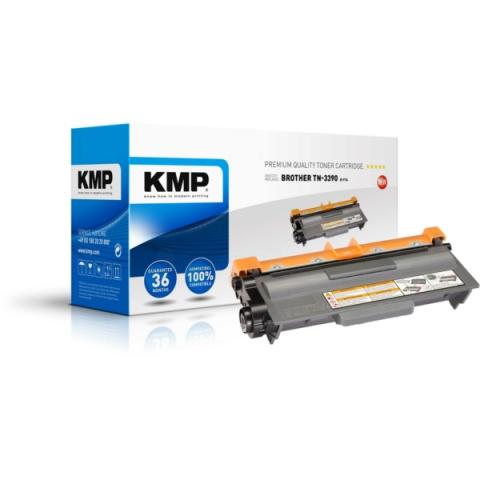KMP Toner, recycelt, ersetzt TN3390 für Brother